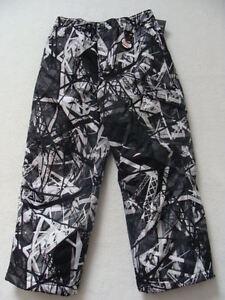 d6f64a89ec6b NEW Boys Zero XPosur Snow Pants Size 4 Black Ski Snowboard Winter ...