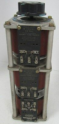 VARIAC TECHNIPOWER TYPE W5 VARIABLE TRANSFORMER