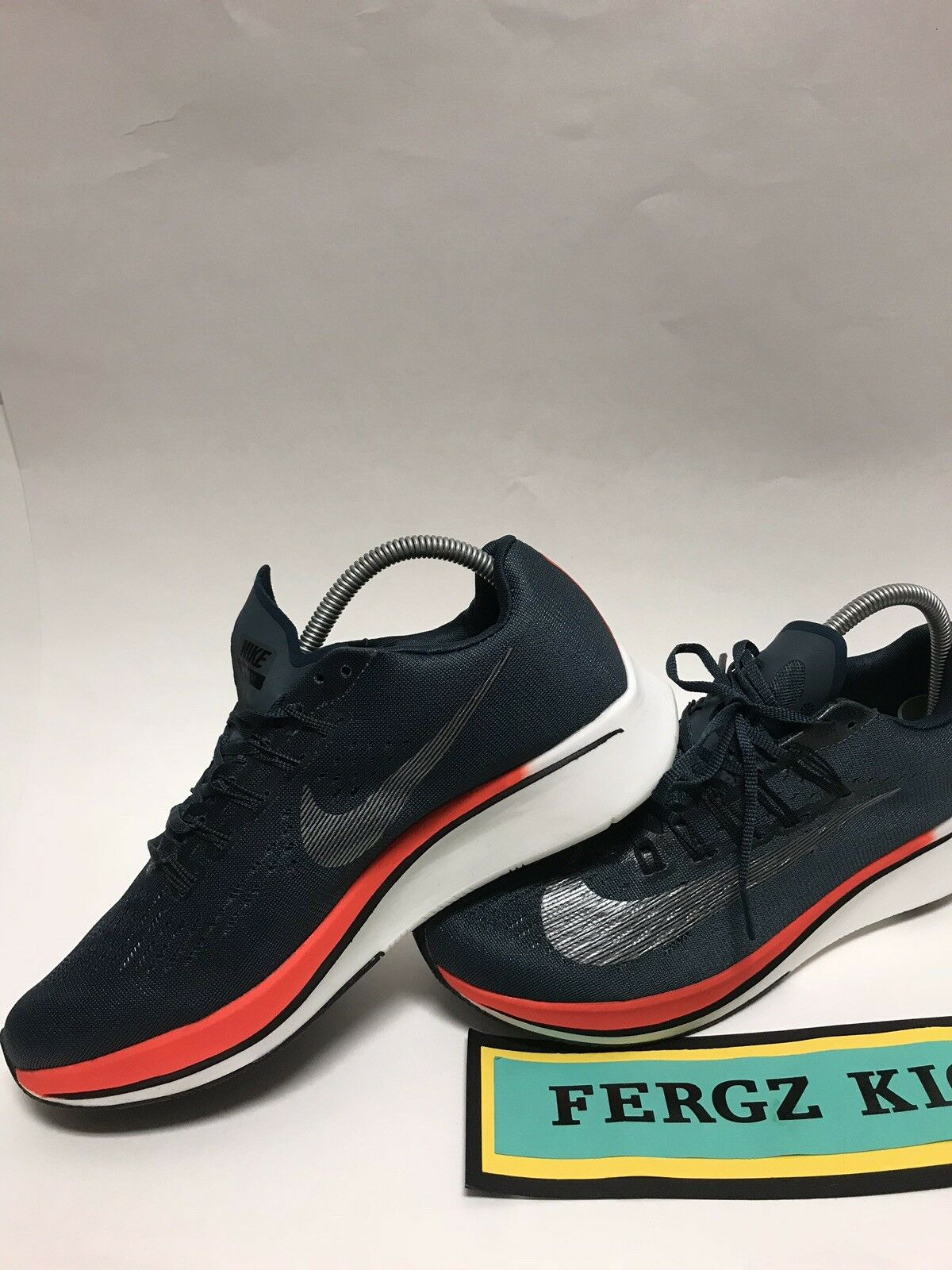 Nike Zoom Fly (880848-400) bluee Fox Men's Size 8.5 Running shoes Great Condition
