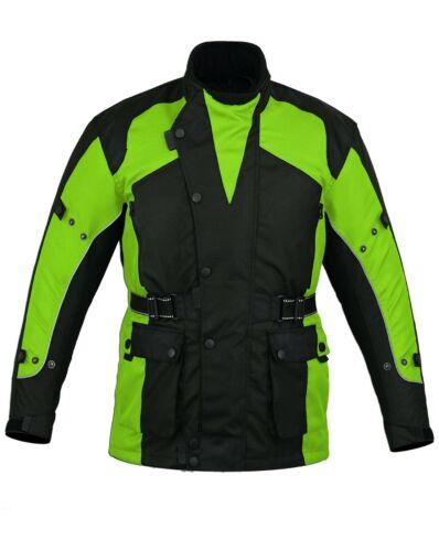 Australian Bikers Gear Motorcycle Cordura Waterproof CE Armoured Textile Jacket