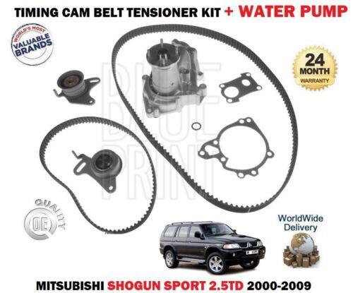 WATER PUMP FOR MITSUBISHI SHOGUN SPORT 2.5DT 2000-2009 TIMING CAM BELT KIT