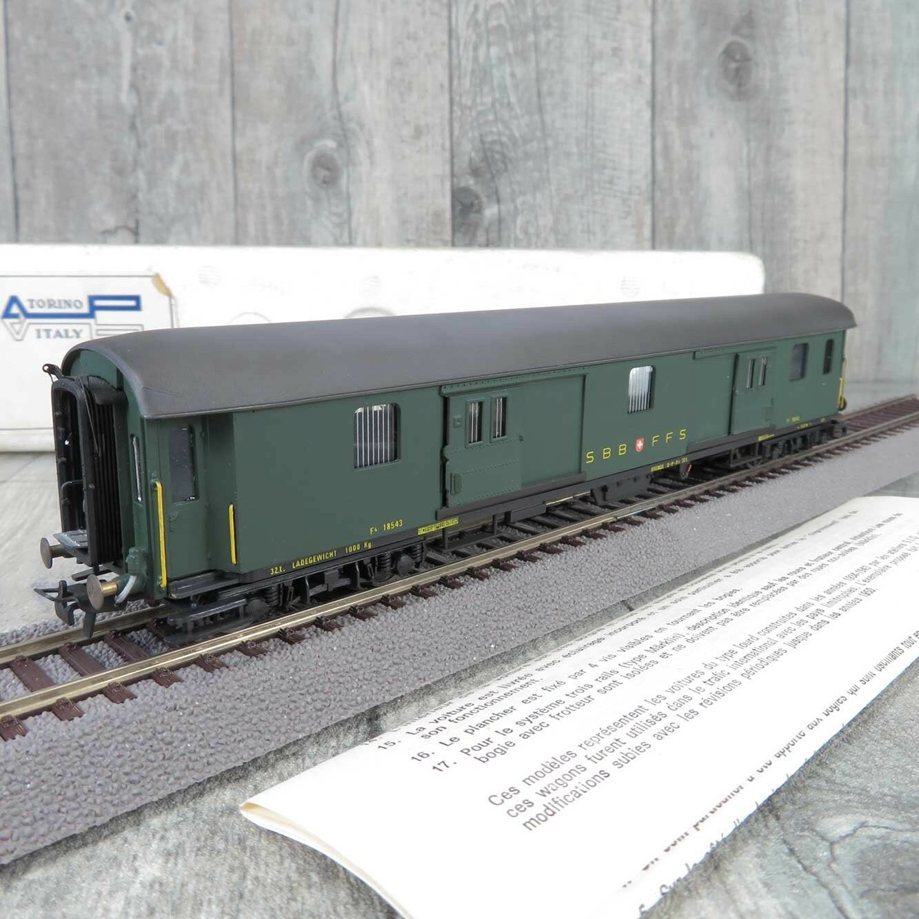 Metropolitan 7040 - H0 - Gepäckwagen - SBB - OVP -  B22240