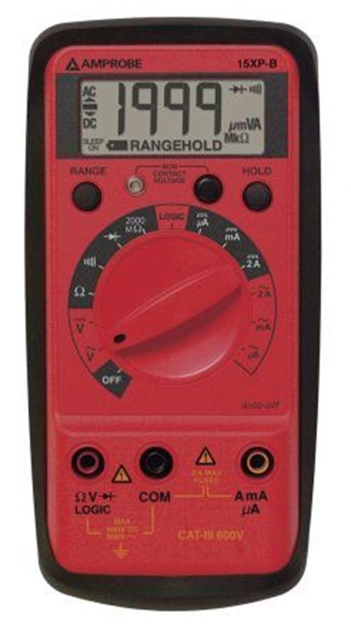 Amprobe 15XPB de mano Multímetro Digital, 2A AC 600V 600V AC 2A DC 600V 600V DC 8db620