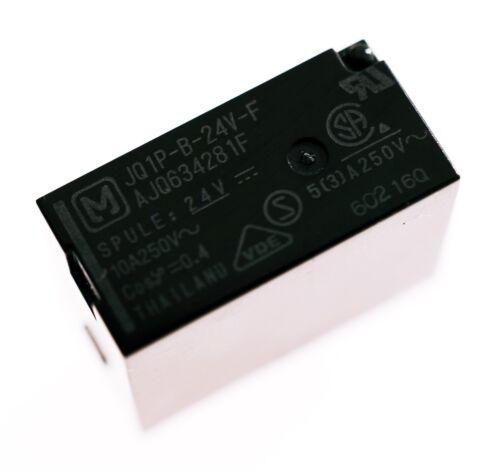 JQ1P-B-24V-F Relais SPDT 24V-10A 125VAC 5A 250VAC Panasonic# 716286