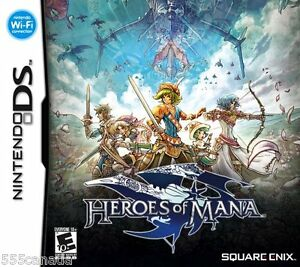 Heroes-of-Mana-BRAND-NEW-SEALED-Nintendo-DS-2007
