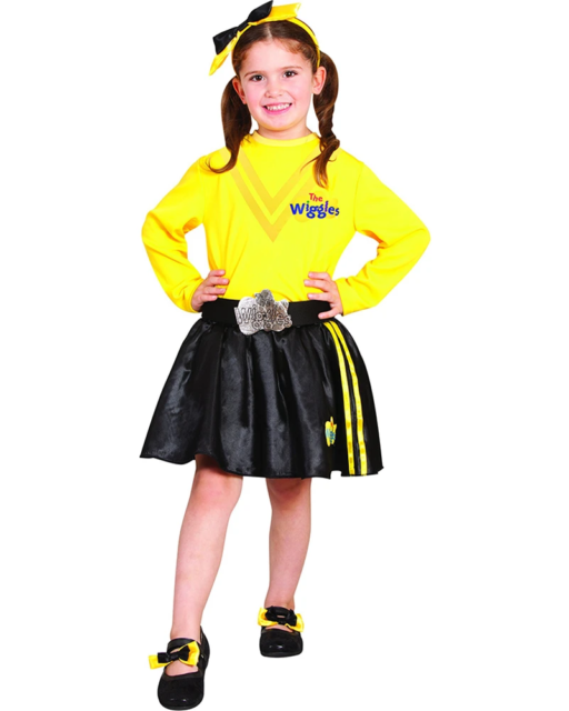 The Wiggles Headband and Shoe Bows Girls Costume Kit