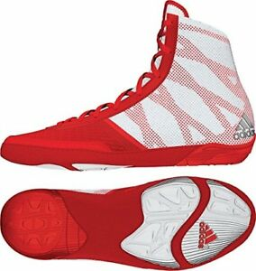 in stock ba0d1 f0a8b Image is loading Adidas-AQ3293-Pretereo-III-Wrestling-Shoes-Red-Silver-