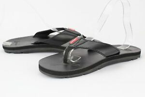 20f34a1aac253 Details about Men Levis Heartland Mix J2 Black Casual Sandal Fit Flop Thong  New Original