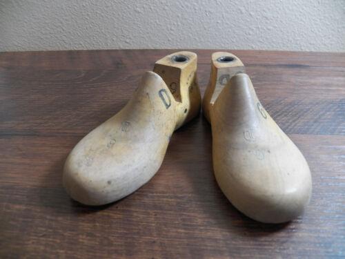 Childrens INFANTS Wood Wooden 1 Pair 3209 SIZE 6 D Shoe Lasts Molds Cobbler