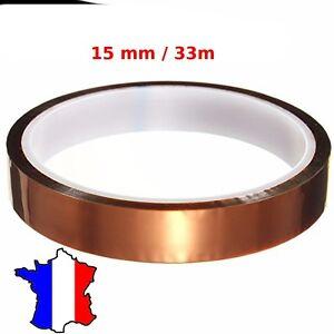 Super ruban 15 mm adhésif isolant thermique et électrique - scotch YD-01