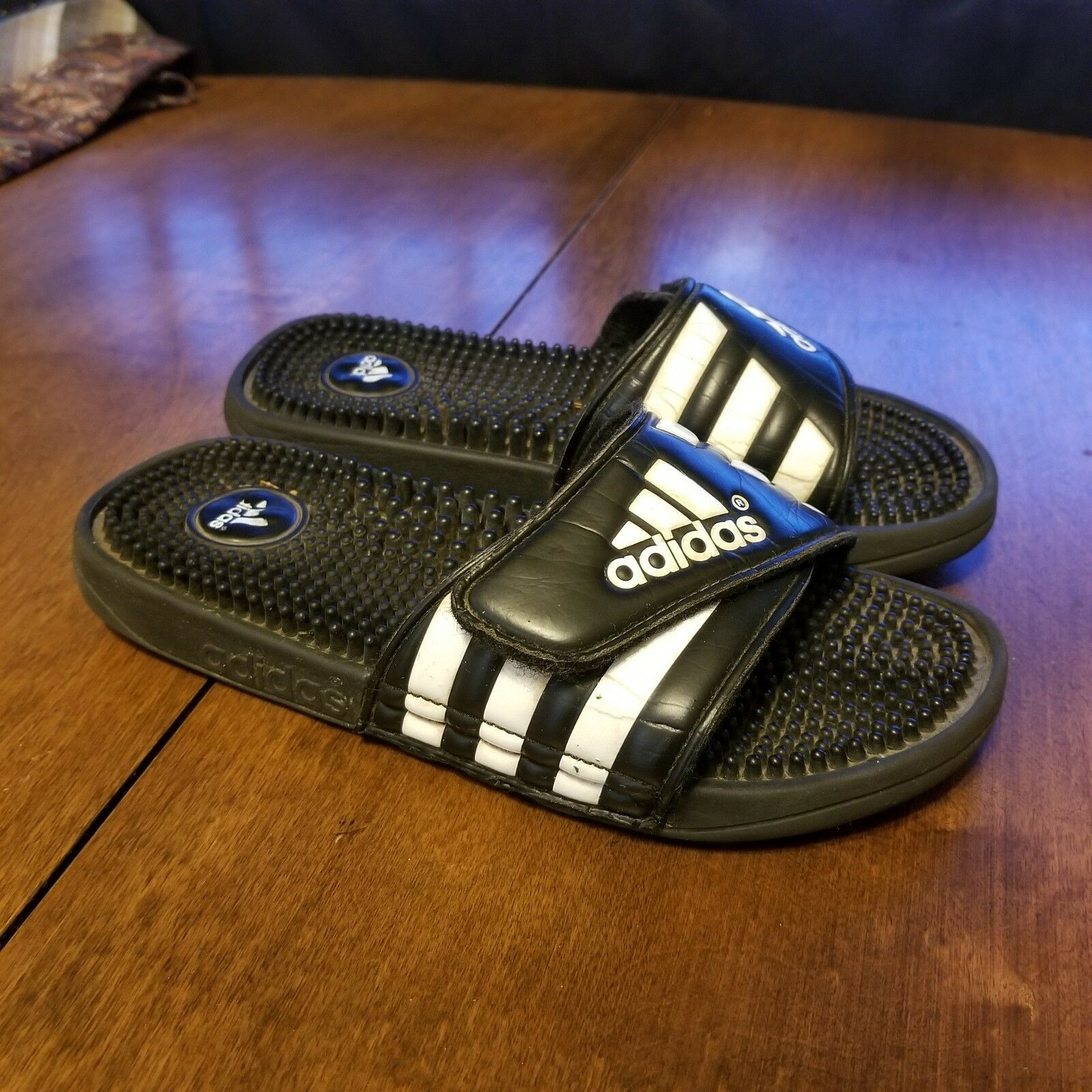 B39 adidas nero diapositive doccia athletic sport sandali sandali sandali numero 5   Elegante Nello Stile  054706