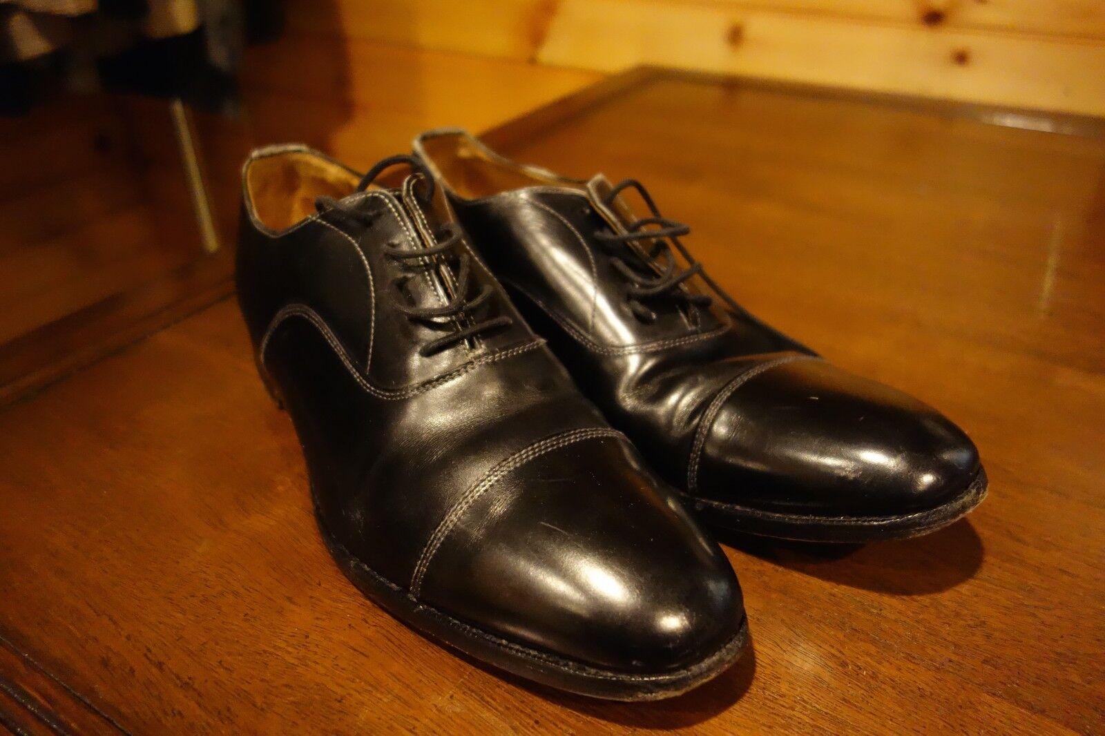 Brooks Brothers Made England Cap Toe Dress Oxford Größe schuhe Größe Oxford 10 308265