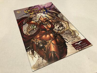 Grimm Fairy Tales 42 Sketch Exclusive EBAS Cover
