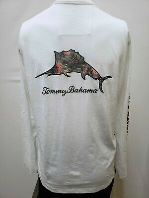 "New Tommy Bahama Men/'s Short Sleeve /""Let/'s Play Hookie,/"" UPF 50 T-Shirt S-2XL"