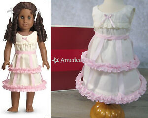 American Girl Crinoline and Chemise NIB Addy Cecile Marie-Grace Pink Fast Ship