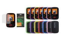 Soft Skin Cover Case And Screen Protector For Sandisk Sansa Clip Sport (sdmx24)
