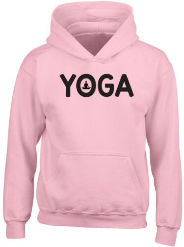 Yoga Boys Girls Kids Childrens Hooded Top Hoodie