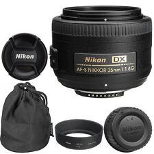 Nikon 35mm f/1.8G AF-S DX Lens for Nikon Digital SLR Cameras Brand New