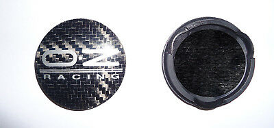 4 Coprimozzi Caps Cerchi In Lega Oz Racing Diametro 63mm Nuovo Originale M595