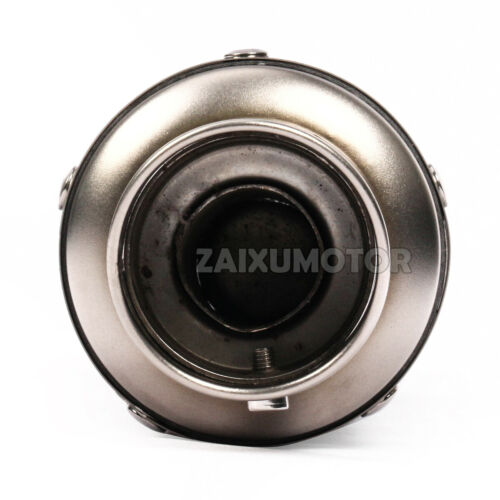 "Carbon Fiber Sleeve Motorcycle Exhaust Tailpipe 1.5/""-2/"" Muffler 370mm 51mm Inlet"