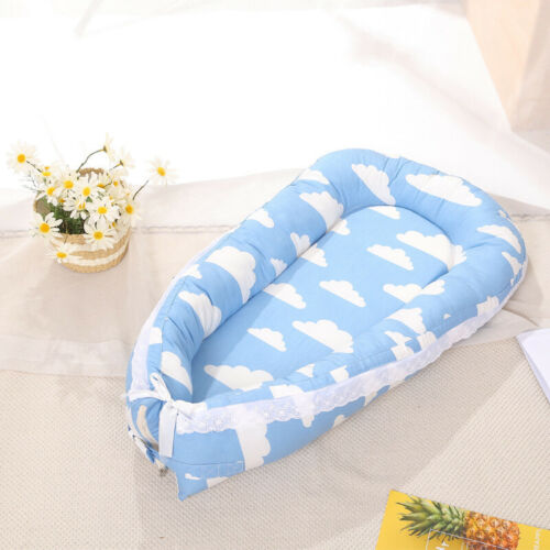 Baby Pod Nest Newborn Reversible Cocoon Bed Sleep Newborn Cushion Sleepyhead Mat