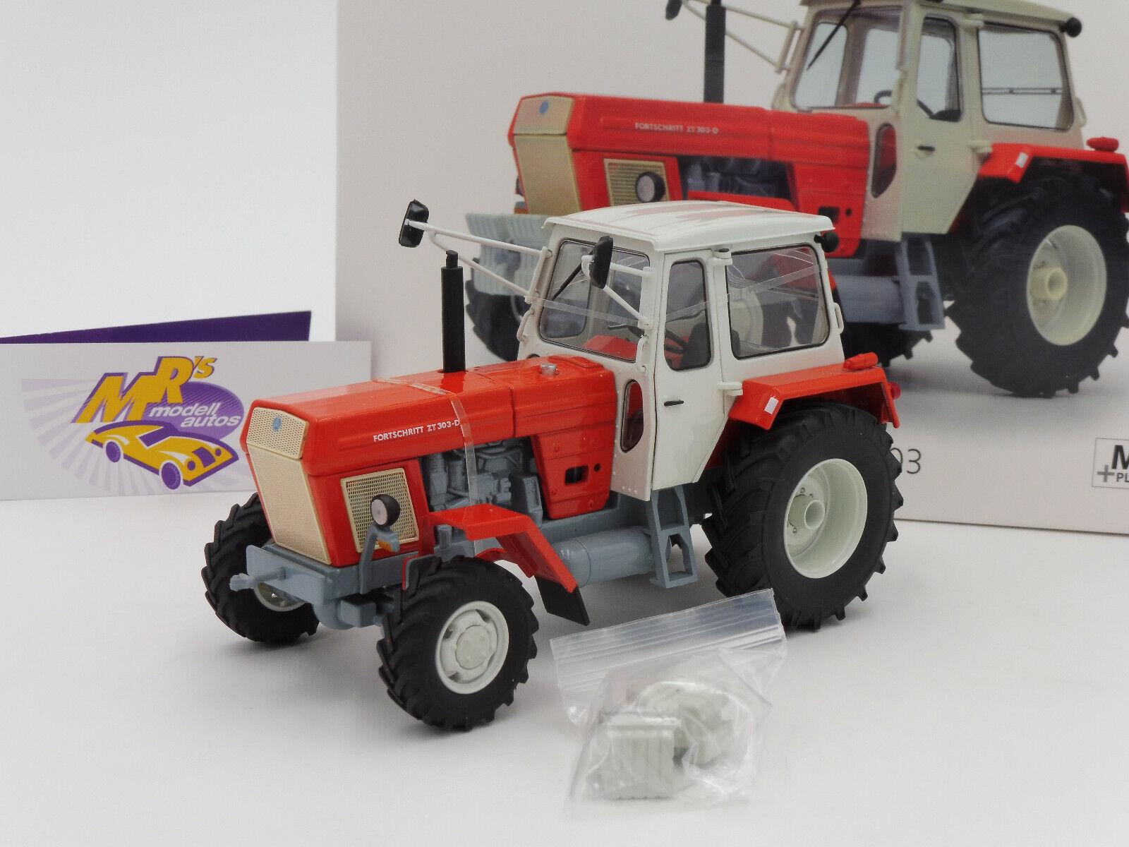 Schuco 07751   Fortschritt ZT 303 Baujahr 1972 in   rot-weiß   1 32 NEUHEIT