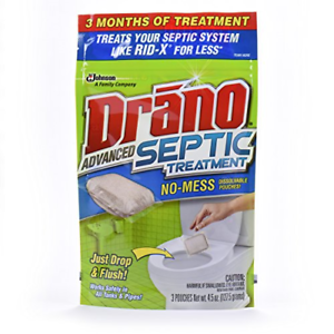 Drano Advanced Septic Treatment 3 Count