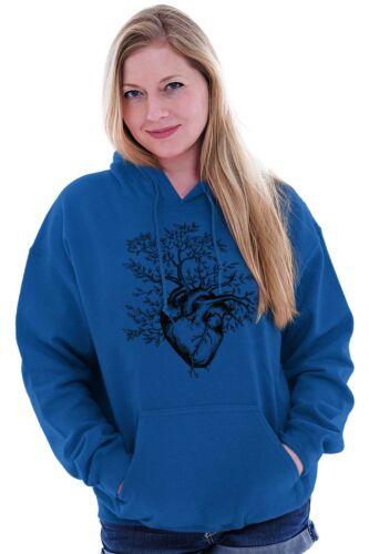 Sprouting Heart Tree Peace Spiritual World Hoodies Sweat Shirts Sweatshirts