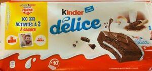 Kinder-Delice-Mini-Kuchen-Cake-Keks-10x-39g-Ferrero-Kinderschokolade-Import