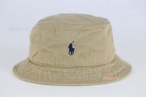 427fd85965de0 Image is loading NWT-POLO-RALPH-LAUREN-Pony-Beachside-Bucket-Hat-
