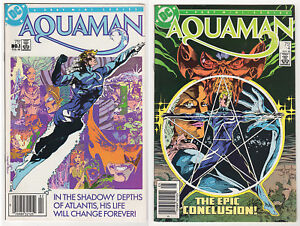 AQUAMAN-1986-2007-VF-LOT-22-1-DC-comics-Specials-Annuals-Atlantis-Ostrander