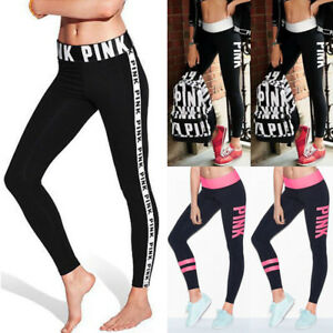 Women-High-Waist-Yoga-Fitness-Leggings-Running-Gym-Sports-Pants-Trousers