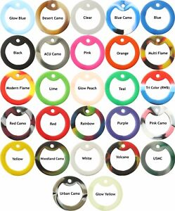 10-Pack-Military-Rubber-Dog-Tag-Silencers-Choose-any-colors