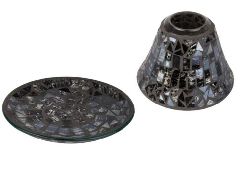 Cello Candle Shade /& Plate Gift Set Midnight