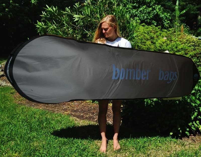 Bomber Bags padded surfboard bag, longboard, surf, bag, shortboard, board