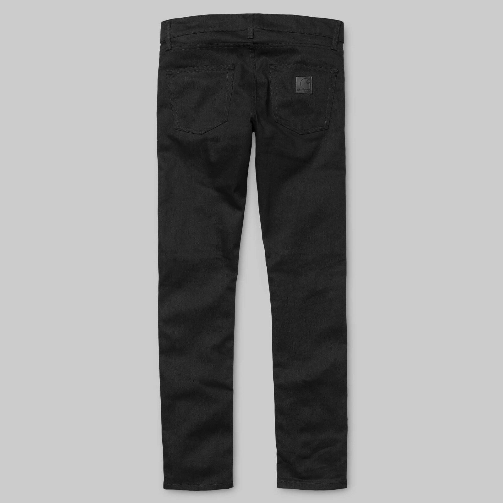 ... Carhartt Wip Rebel slim Pantalone Jeans Denim Rigida slim Rebel nera  modello affusolato Raw d8f020 f38231324f05