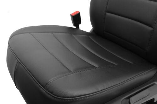 Peugeot 807 2002-2014 Passform Autositzbezüge Schonbezüge 1+1 Schwarz Kunstleder