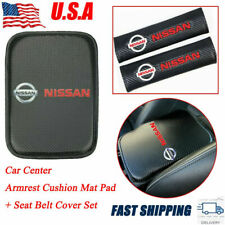 For Nissan New Car Center Console Armrest Cushion Mat Pad Cover Combo Set Us Fits 2011 Nissan Frontier