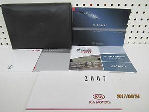2007 Kia Amanti Owners Manual  FREE SHIPPING