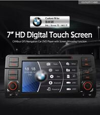 AUTORADIO BMW E46 NAVIGATORE GPS CANBUS DVD USB SD MIRRORING BLUETOOTH XTRONS