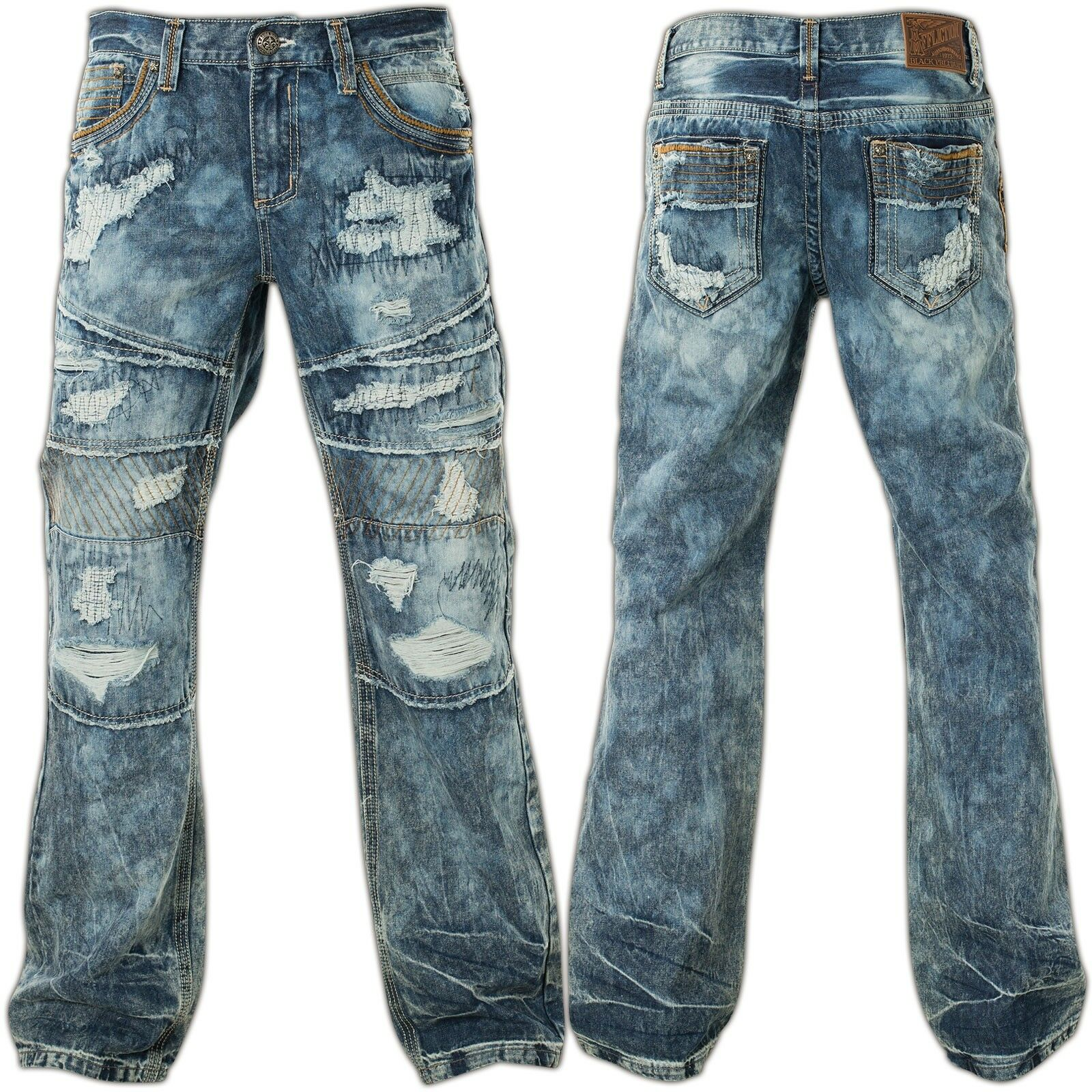 Affliction Jeans Blake Fallen Tampa bluee