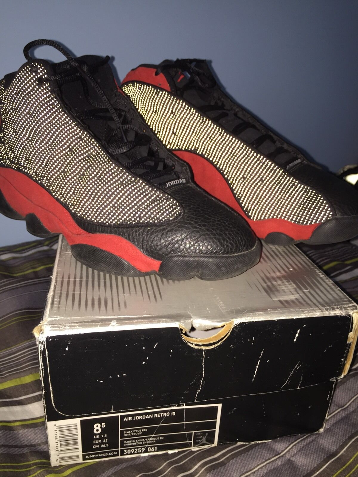 Air Jordan 13 Bred Size 8.5 Concord, Playoff, Bred