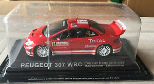 DIE-CAST-034-PEUGEOT-307-WRC-RALLY-MONTE-CARLO-2004-034-RALLY-DEA-SCALA-1-43