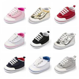 Newborn Infant Baby Boy Girl Pram Shoes