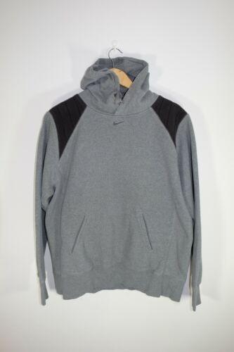 Gray Nike Center Swoosh Hoodie Size M