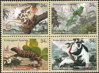 Tireless Uno - New York 856-859 Viererblock (kompl.ausg.) Unmounted Mint / Never Hinged 2 Let Our Commodities Go To The World