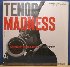 "Sonny Rollins w/ Coltrane ""Tenor Madness"" New Sealed OJC Lp"