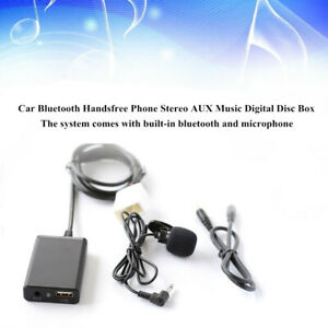 Bluetooth-Hands-free-Stereo-AUX-Adapter-Interface-USB-Fit-For-Toyota-Lexus-Scion