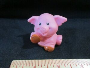 Fisher Price Little People Farm Pink Muddy Pig New