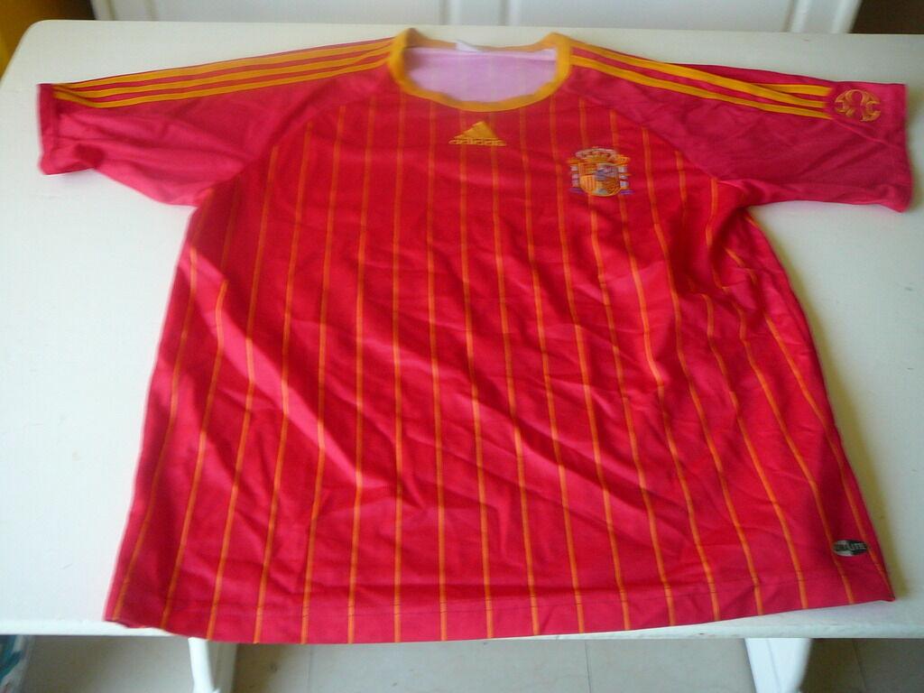 Maglia da calcio Spagna Espana adidas vintage rosso rosso XL Maglia Villa